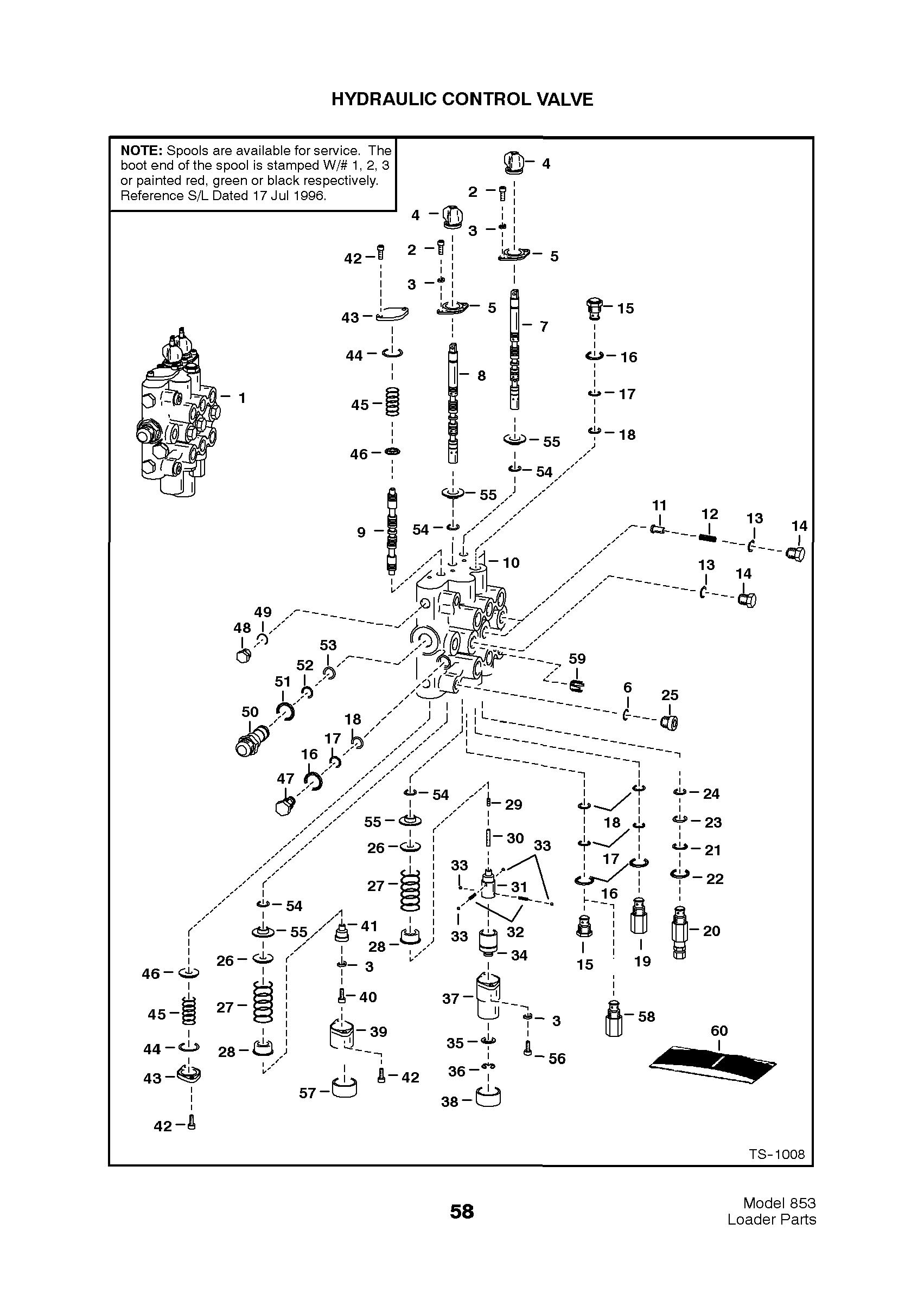 bobcat s250 tilt cylinder parts diagram